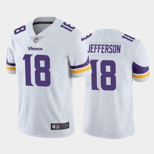 Minnesota Vikings Justin Jefferson White Jersey